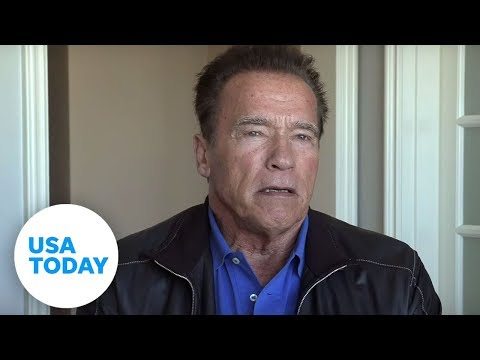 "Arnold Schwarzenegger on the famous ""I'll be back"" line 