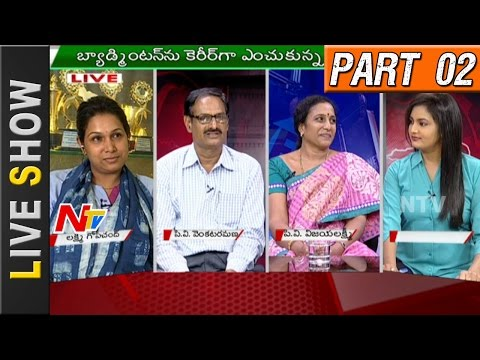 Special Discussion With Silver Medalist PV Sindhu Parents | Live Show Part 02 | NTV