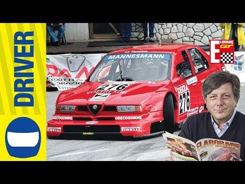 Alfa Romeo 155 V6 TI ex DTM     Retroscena con La Vecchia supercampione CIVM