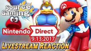 Nintendo Direct (9/13/2017) Livestream Reactions