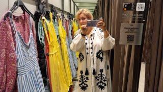 Шоппинг в Меге и Мега цены в Стокман Большие размеры в Zara ПРИМЕРКА Обзор и цены