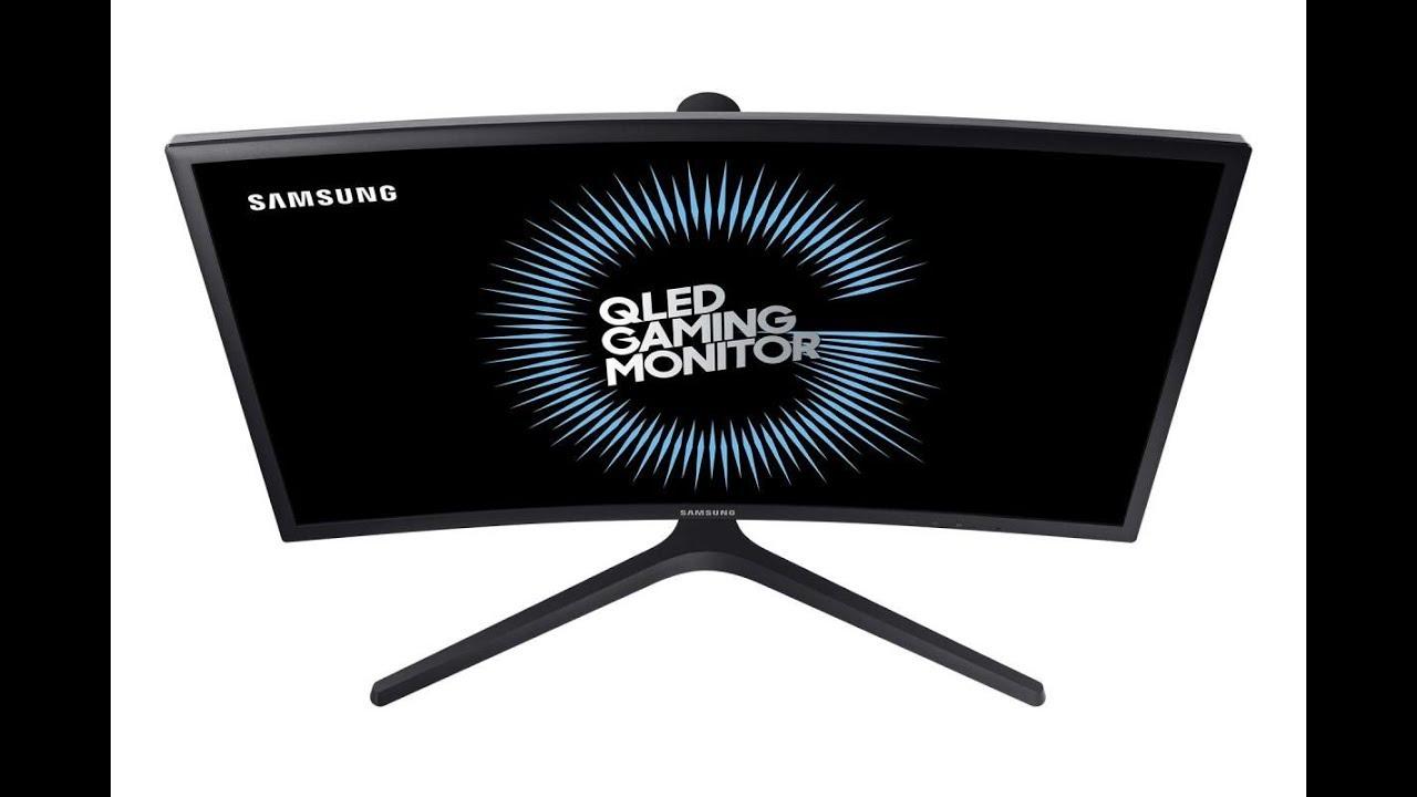Samsung CFG73 QLED Gaming Moniter Showcased At Gamescom 2017