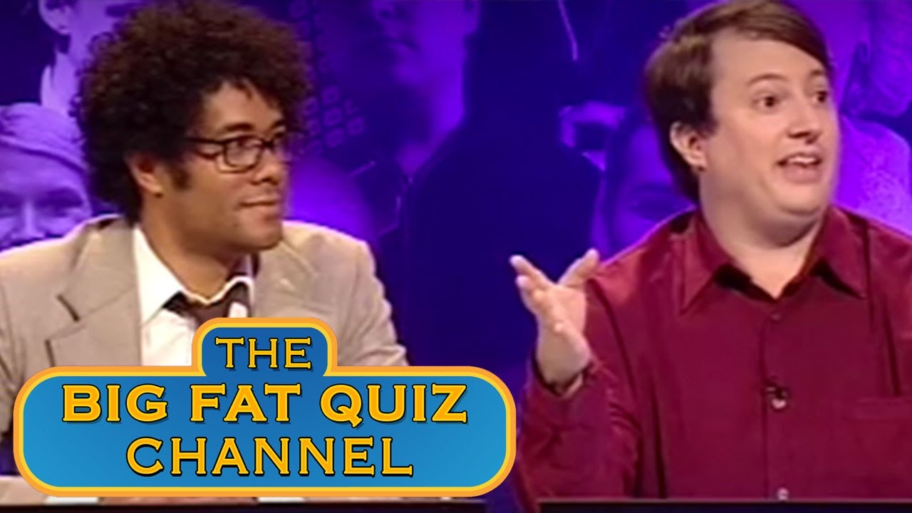 Richard and David Come Up With Team Names - The Big Fat Anniversary Quiz