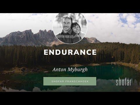 Anton Myburgh - Endurance