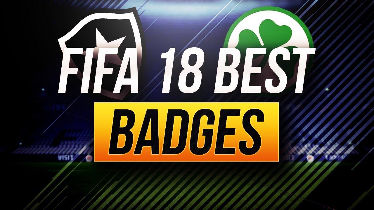 BEST BADGES IN FIFA 18