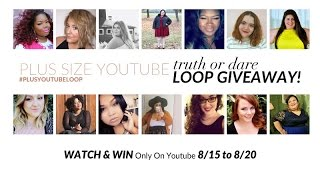 Truth or Dare #PlusYouTubeLoop Giveaway!! ♡ 5 Minute Makeup Challenge Dare | whirlsandcurls (CLOSED)