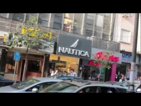 War scene in Hamra street - April 13 2012