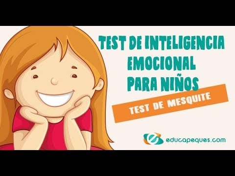 Test De Inteligencia Emocional Para Niños Test De Mesquite Youtube