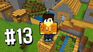 МАЙНКРАФТ ВЫЖИВАНИЕ НА ТЕЛЕФОНЕ НА ОСТРОВЕ #13 НАШЕЛ ДЕРЕВНЮ В ПЕ 1.7 PE Minecraft Pocket Edition
