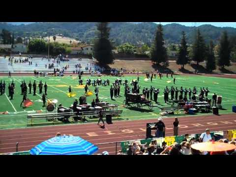 Leigh High Marching Band 2010