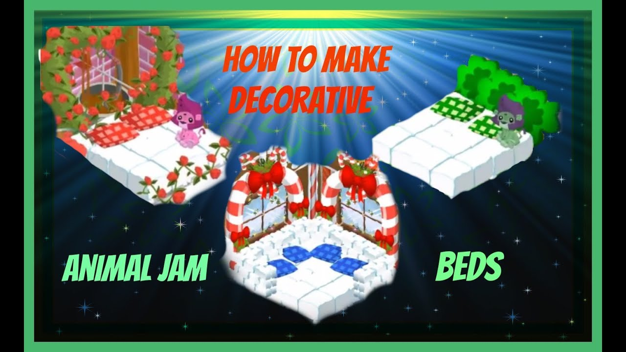 Download Animal Jam: How To Make Decorative Beds