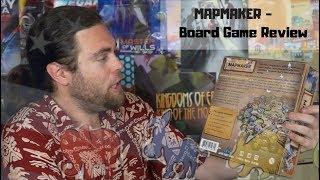MapMaker  : The Gerrymandering Game - Kickstarter - Board Game Review