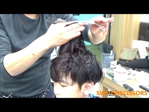 boy's two-block haircut