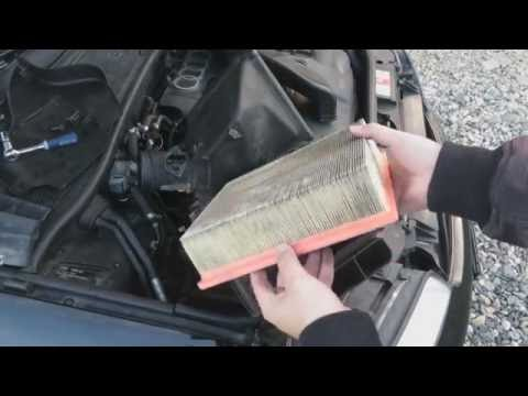 Audi A6 C5 1997-2004 - How To Change Engine Air Filter