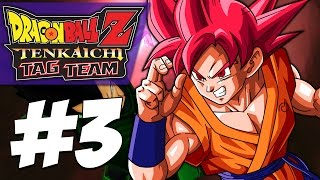 God Goku VS GREEN Vegeta?!   Dragon Ball Z: Tenkaichi Tag Team (PART #3)