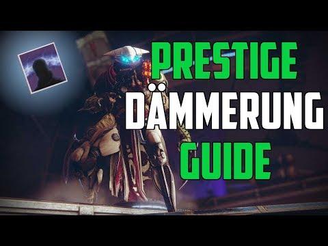 Destiny 2 : Ausführliches Prestige Dämmerung Guide [ Deutsch / German ]