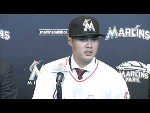 Wei-Yin Chen's Miami Marlins press conference -- 01/19/2016