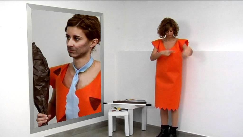 Como Crear Tu Disfraz De Pedro Picapiedra Youtube - Disfraz-familia-picapiedra