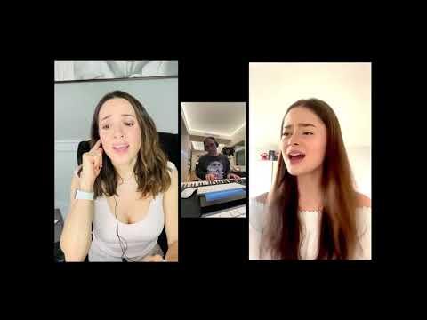 Kalomira & Stefania - Shady Lady (Ani Lorak Cover) Live On Instagram