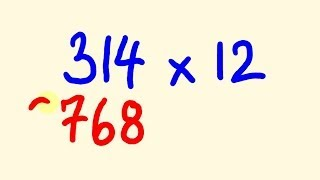 How to easily multiply any number by twelve