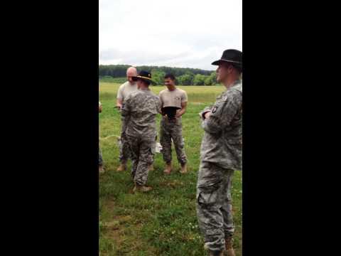 E Troop Stetson Break In 31 May 13