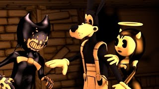 [BENDY SFM] ALICE ANGEL vs INK Bendy  SAMMY BORIS Animation Compilation SCENE MOVIE