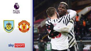 Aussortiert? Pogba schießt United an die Spitze! | FC Burnley - Manchester United 0:1 | Highlights