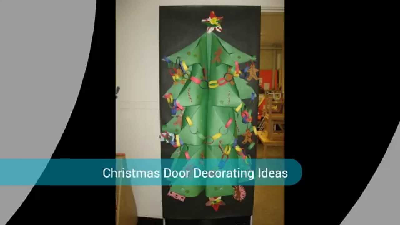 Good Housekeeping Christmas Door Decorating Youtube