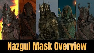 *NEW* NAZGUL MASK OVERVIEW + ARMOUR (Shadow of War)