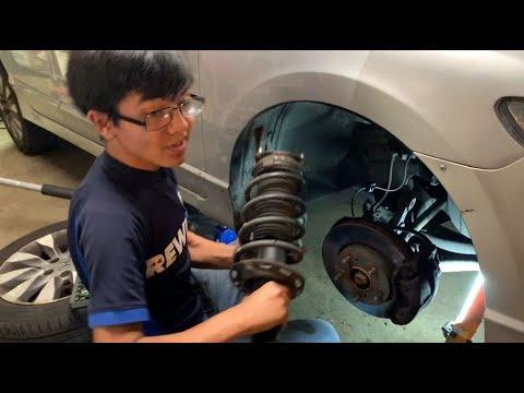 Front Passenger Side Shock Absorber and Strut Assembly Fits Honda Civic