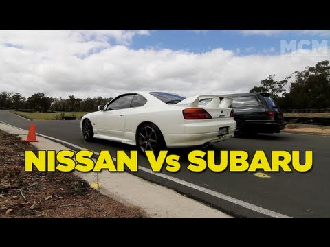 Nissan Vs Subaru Battle