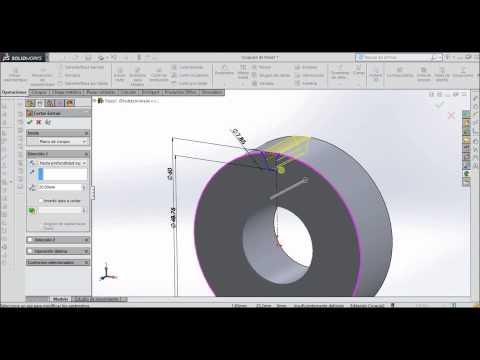 Como hacer un engrane fácilmente en SolidWorks