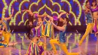 BOLLY FLEX BOLLYWOOD DANCE COMPANY - Ayla Re Ayla, O Saya & Maurya Re Dance.