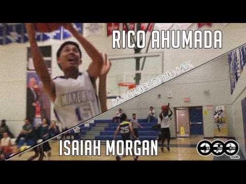 Class of 2019 Isaiah Morgan and Rico Ahumada are Mavs backcourt duo