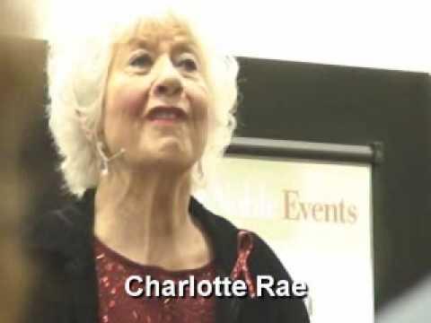NY Big Voice Diary 25: Charlotte Rae