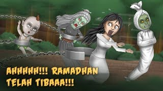 [5.06 MB] Ketika Hantu Dibelenggu di Bulan Ramadhan | Kartun Lucu