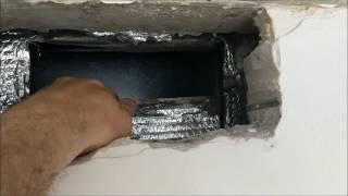 видео Правильный монтаж воздуховодов для вытяжки: особенности пластиковых и гофрированных воздуховодов