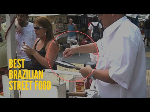 The best brazilian street food - Magazine cover