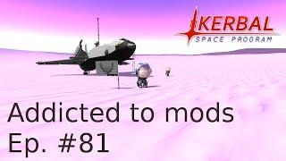 KSP S01E081 - Прогулка по Еве, на ровере PackRat (русский летсплей)