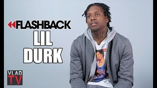 Lil Durk on Moving from Chicago to Atlanta, Making Investments (Flashback)