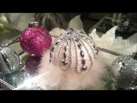 DIY Glam Christmas Ornaments