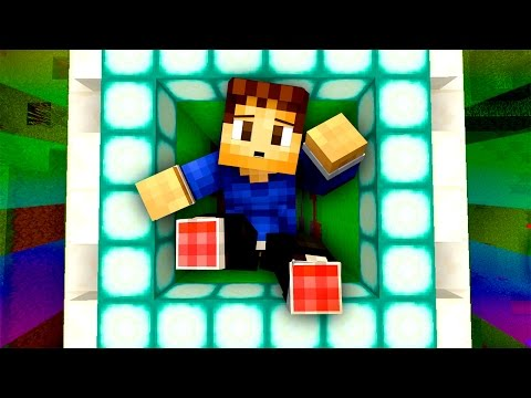 NEW PARKOUR SLIME DROPPER! Minecraft 1.8 Games with Woofless and Friends!