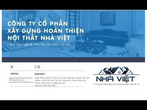 Profile Công ty CP Xây dựng Hoàn thiện Nội thất Nhà Việt