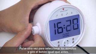 E-Learning The alarm clock from Bellman & Symfon (ES)