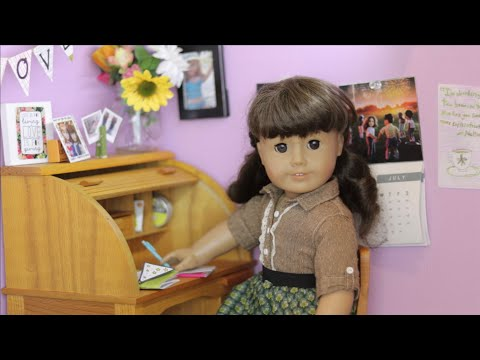 Day In The Life Of Samantha (American Girl Doll Stopmotion)