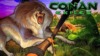 WOLVES EVERYWHERE! (Conan Exiles - Ep.4)