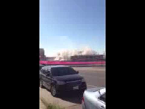 El Paso City Hall Demolished
