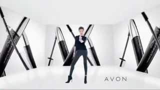 Реклама тушь Эйвон / Advertising mascara Avon / Аня Чиповская