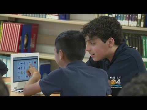 Google Visits Miami School Teaching Kids To Code