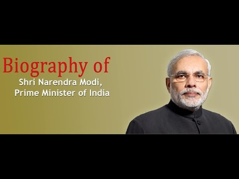 Biography Of Shri Narendra Modi | Prime Minister Of India | NaMo